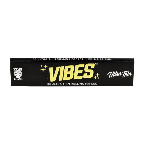 VIBES Ultra Thin Rolling Papers | Kingsize Slim | Wholesale Distributor