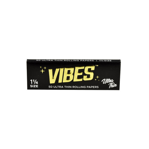 VIBES Ultra Thin Rolling Papers | 1 1/4 | Wholesale Distributor