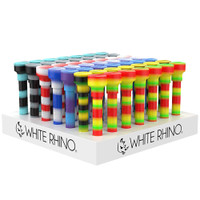 White Rhino Dabtainer Silicone Straw/Storage | Wholesale