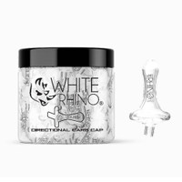 White Rhino Glass Directional Carb Cap | Wholesale Distributor