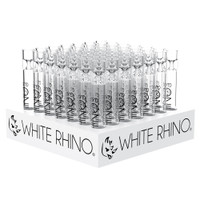 White Rhino Glass XL Chillums | Wholesale Distributor