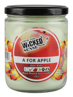 Wicked Sense Soy Candle - 13oz / A for Apple - AFG Distribution