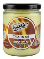 Wicked Sense Soy Candle - 13oz / Talk To Me - AFG Distribution