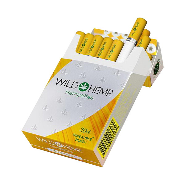 Wild Hemp CBD Hempettes Carton | Pineapple Blaze | Wholesale
