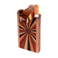 Wood Dugout w/ Horizon Woodworked Design | Small | Wholesale Distributor