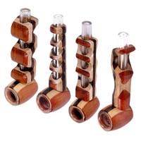 Wood Glass Hybrid Pipe 4.5"