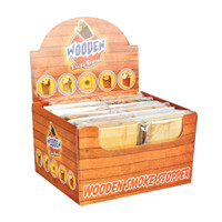 "Wooden Dugout w/ Taster 3"" Assorted Styles 12pc Display 