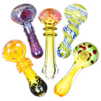 "Worked Style Spoon Pipe | 3.25""-3.5"" 