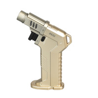 Zico MT42 Gun Grip Table Torch Lighter | Gold | Wholesale