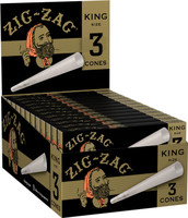 Zig Zag Pre-rolled Cones - Kingsize | 24pk Display