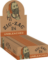 Zig Zag Unbleached Rolling Papers - 1 1/4"