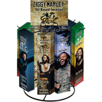 Ziggy Marley Oil Based Incense | 48pc Display | Wholesale Distributor