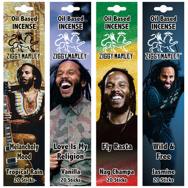 Ziggy Marley Oil Based Incense | Wholesale Distributor