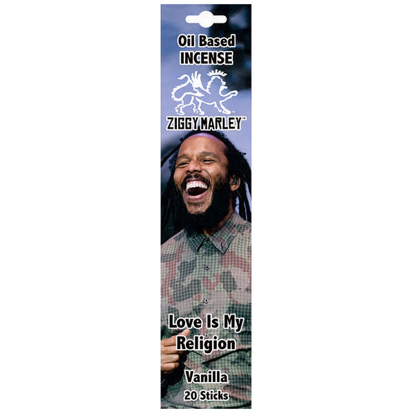 Ziggy Marley Oil Based Incense | Love Is My Religion | Wholesale Distributor