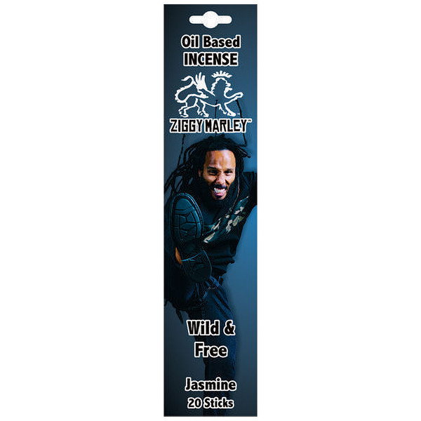 Ziggy Marley Oil Based Incense | Wild & Free | Wholesale Distributor