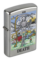 Zippo Classic Lighter - Death Tarot Card - AFG Distribution