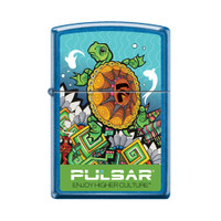 Zippo Lighter | Pulsar Psychedelic Turtle | Wholesale Distributor