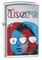 Zippo Lighter - The Doors - Polished Chrome