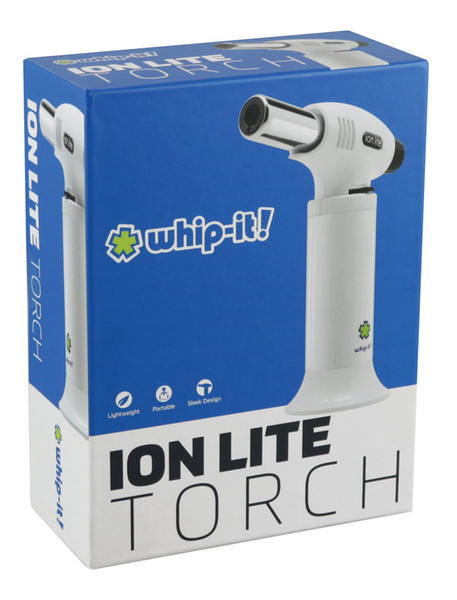 "whip-it! Brand - Ion Lite Torch Lighter - 6"" / Black Yellow"